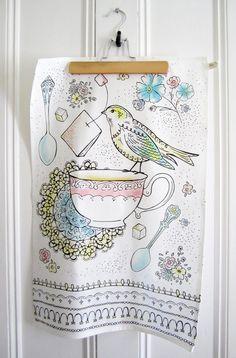 Kitchen Towel - Afternoon Tea