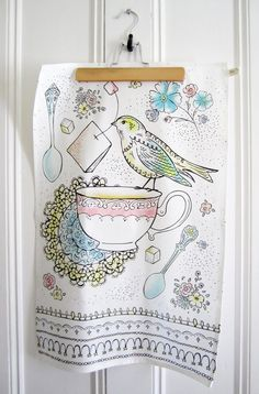Kitchen Towel - Afternoon Tea