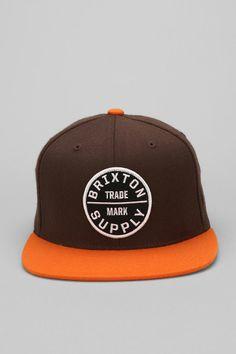 Brixton Oath III Snapback Hat #snapback #snapbax