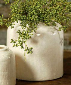 Ting Ceramic Pot -White - Planters