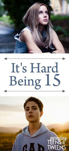 It's Hard To Be Why 15 is such a hard year for teens and their parents. Raising Teenagers, Parenting Teenagers, Parenting Books, Parenting Plan, Parenting Classes, Parenting Styles, Foster Parenting, Parenting Quotes, Dads