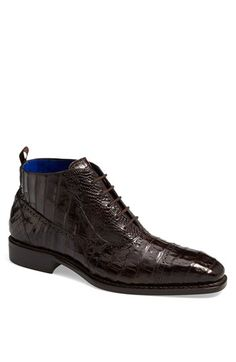 Mezlan 'Serra' Crocodile Boot available at #Nordstrom