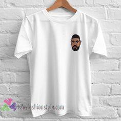 Drake Face tshirt Tees Adult Unisex custom clothing Size S-3XL //Price: $15.99  //