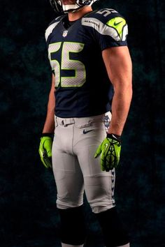 Seattle Seahawks Nike Uniform. New Nfl Uniforms 76ba51b55