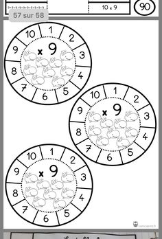 Number Writing Practice, Writing Numbers, Math For Kids, Fun Math, Teaching Math, Teaching Resources, Math Websites, Used Legos, Multiplication Facts