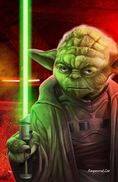 Grand Master Yoda by raymundlee Star Wars Yoda, Star Wars Rpg, Star Wars Fan Art, Star Wars Rebels, Star Wars Pictures, Star Wars Images, Yoda Pictures, Aliens, Cyberpunk