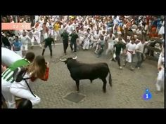 Best Moments in San Fermin 2012 - Epic and Heroic