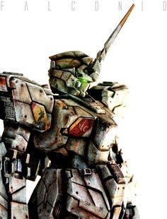 Gundam Unicorn SSVF by AngeloFalconio.deviantart.com on @deviantART