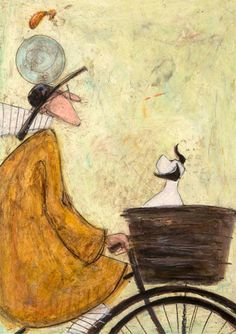 'Rover does a back flip' - by Sam Toft
