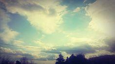 Beautiful sky.
