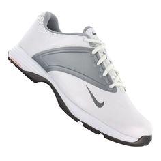 best service 5246e 3b521 Nike Golf women s Lunar Saddle Wide Golf Shoe,White Metallic Cool Grey Wolf  Grey,9.5 W US