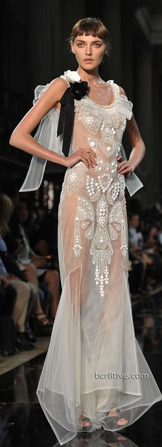 John Galliano Spring Summer 2012 Ready To Wear.  for when you want to be sexy yet have some mystery. <3