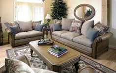 Lancaster Living Room Set And Individual Pieces : South Sea Rattan