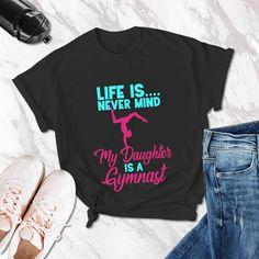 Gymnast Splatter Toddler T-Shirt Team Player Cute Birthday Gift Idea