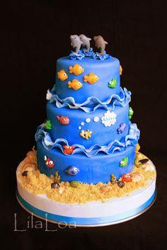 LilaLoa: Child Birthday - Fish & Ocean theme