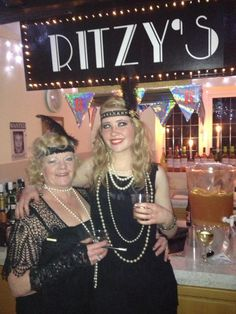 je ne sais quoi: How To Throw A Roaring 20s Speakeasy Party: Flappers, a homemade Speakeasy sign and a job lot of prohibition punch (basically Sex On The Beach with added Bourbon)