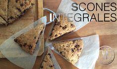 Scones Integrales | Recetas Clean Eating | FitFood