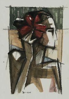 gesto: mulher e uma flor