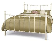 A favourite bed frame design in a high quality ivory finish now available in…