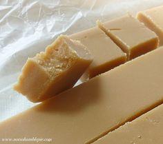 Scottish Tablet (grainy fudge)-----http://notsohumblepie.blogspot.ca/2010/06/scottish-tablet.html