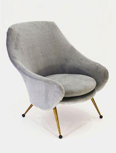 Marco Zanuso Lounge Chairs, image 1