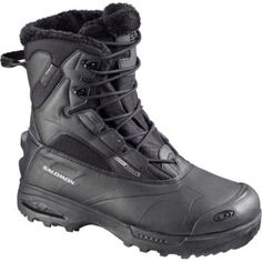 Buy Salomon Toundra Mid WP Insulated Boots The Salomon Toundra Mid WP Insulated Boots provide the highest quality in a performance winter boot. Temperature rated to the Salomon Toundra keep feet protected, warm, and dry. Winter Hiking Boots, Warm Winter Boots, Mens Winter Boots, Winter Shoes, Winter Clothes, Salomon Shoes, Insulated Boots, Tactical Gear, Snow Boots