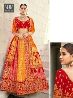 Rs11,700.00 Simple Lehenga Choli, Sabyasachi Lehenga Bridal, Raw Silk Lehenga, Bridal Lehenga Online, Banarasi Lehenga, Net Lehenga, Indian Lehenga, Ghagra Choli, Traditional Indian Wedding