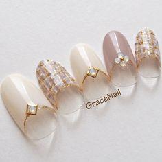 Gel Designs, Pretty Nail Designs, Simple Nail Art Designs, Summer Holiday Nails, Winter Nails, Xmas Nails, Christmas Nails, Dnd Gel Polish, Japanese Nail Art