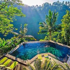Jungle Pools in Ubud, Bali, Indonesia Photography by Timothy Sykes Florida Hotels, Hotels And Resorts, Ubud Hotels, Florida Travel, Dream Vacations, Vacation Spots, Romantic Vacations, Vacation Travel, Italy Vacation