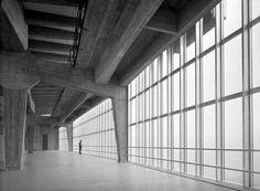 Gio Ponti, Pirelli Tower, 1953. Milano. Photo from the exhibition Giorgio Casali Fotografo. Domus 1951–1983,CIF Scavi Scaligeri di Verona, ...