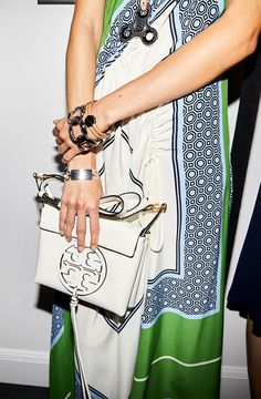 """d3c865590d3e """"Oversized totes were a focus for us this season."""" Tory Burch Bag"""