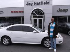 TIMOTHY's new 2013 CHEVROLET IMPALA! Congratulations and best wishes from Jay Hatfield CDJR and Amanda Tidwell.