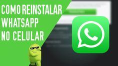 Como baixar e reinstalar o WhatsApp Messenger