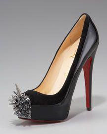 Os sapatos de Christian Louboutin