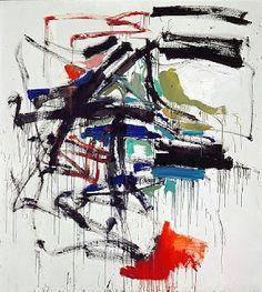 """Untitled"" (1958) Joan Mitchell"