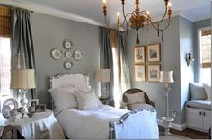 Style Wise: Designer Crush: Joni Webb of Cote de Texas.   What a gorgeous gray!