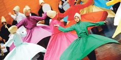 Female whirling dervishes steal show at Bursa sema