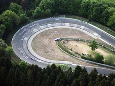 The Carousel, Nürburgring Nordschleife, Germany.