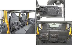 Smittybilt Front & Rear G.E.A.R. Custom Fit Seat Cover with G.E.A.R. Tailgate Cover for 07-12 Jeep® Wrangler JK 2 Door | Quadratec