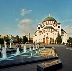 Cathedral of Saint Sava - Belgrade - Serbia