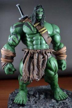 Skaar (New Dark Avengers Version) (Marvel Legends) Custom Action Figure
