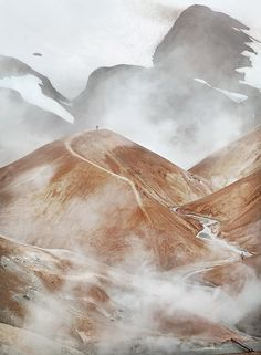 "ICELAND, Kerlingarfjoll - photographer Tony GillOur, ""An amazing place with strange geology, great colours and steaming vents whatever the weather."""
