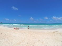 bellows beach, oahu Hawaii