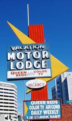 Vacation Motor Lodge ~ Reno, NV