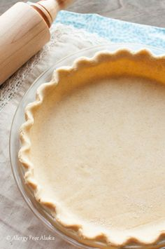 Best Gluten-Free Vegan Flaky Pie Crust Recipe from Allergy Free Alaska. This crust recipe is tried and true - it's amazing! It holds up even if you make your pies the day before.
