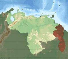 Archivo:Mapa Venezuela Topografico.png