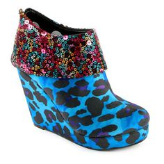 Treasure Box Wedge Blue, $35, now featured on Fab.