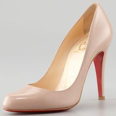 "Christian Louboutin ""Decollete"" Pumps"