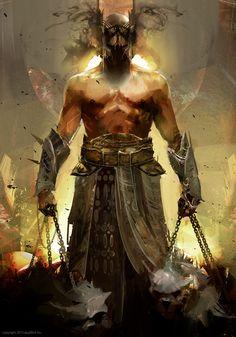 Artist: Richard Anderson aka flaptraps - Title: God of hell applibot inc. - Card: Malicious Glasya-Labolas