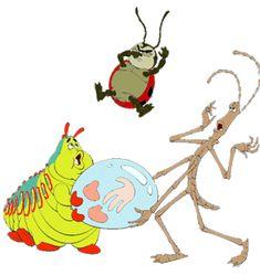 *HEIMLICH, MANNY & FRANCIS ~ A Bug's Life, 1998
